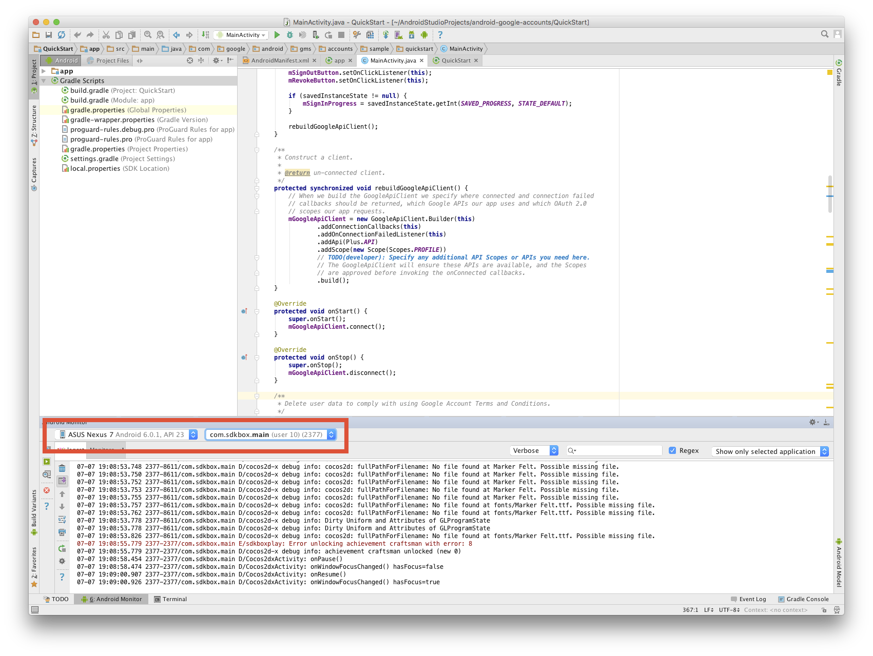 Solved] Debug Cocos2d-js on Android using logcat and