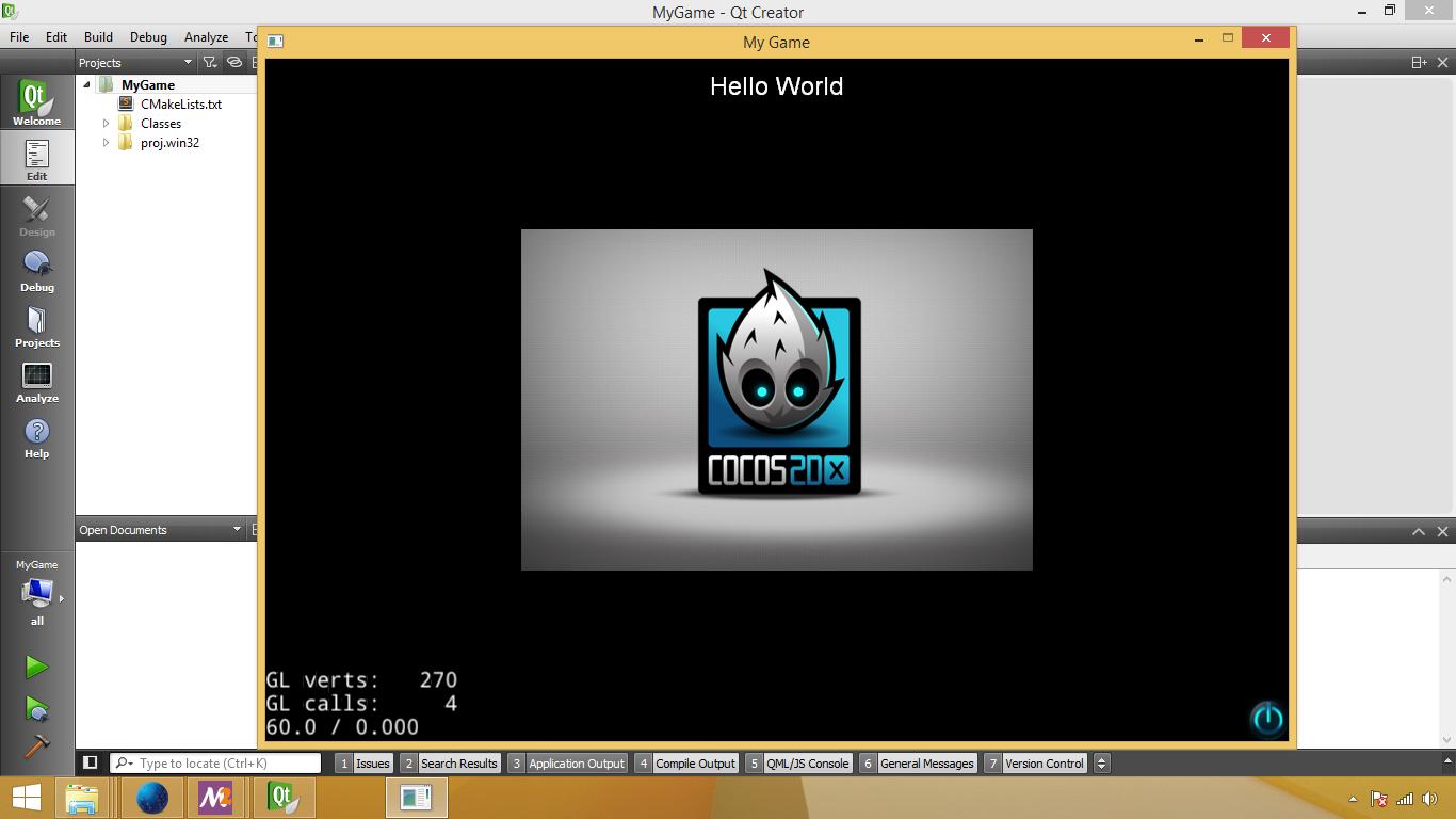 Setup] Fastest setup for cocos2d-x on windows with qt