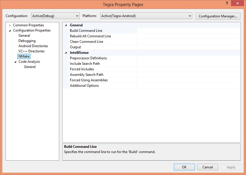 Debugging Android Cocos2dx-3 0(rc2) with Visual Studio and Tegra
