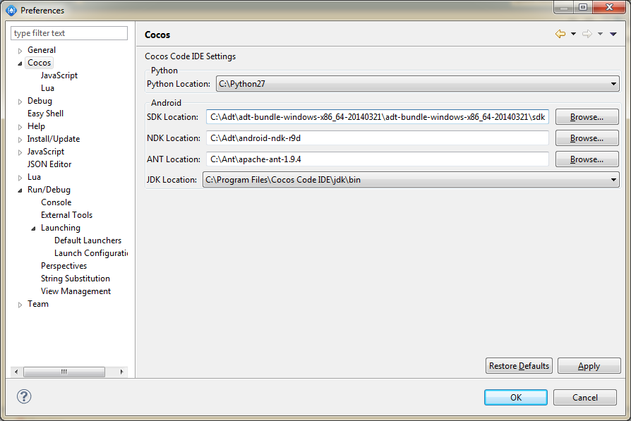 Debug to android device not working - Code IDE - Cocos Forums