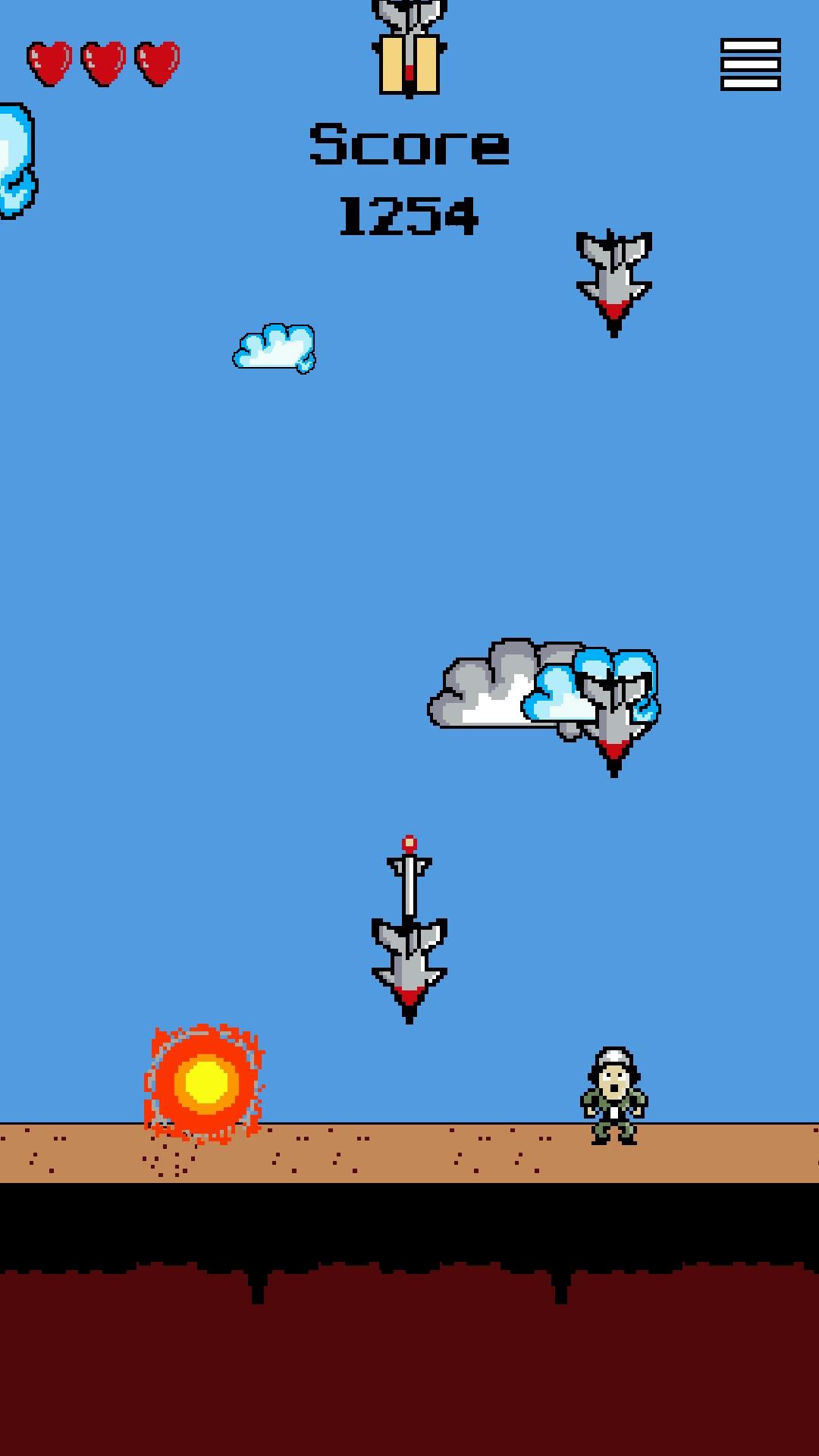 Bomb Rush - minimalist pixel art game [Android] - Game/Demo
