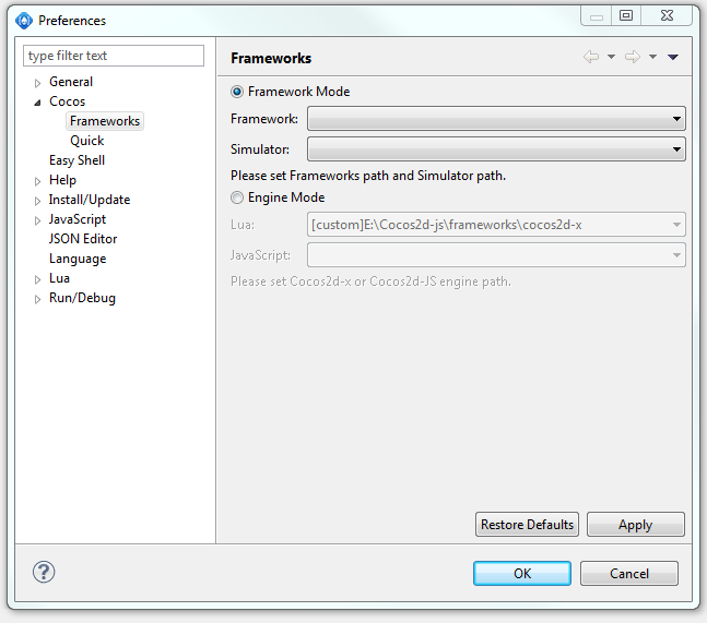 Cocos Code IDE 1 2 0 configuration error - Code IDE - Cocos