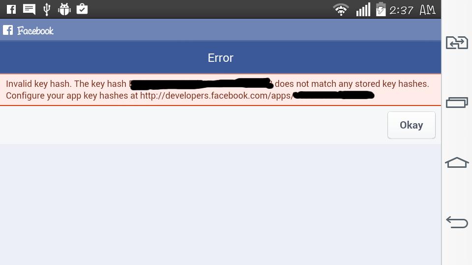 Problem on Facebook integration - C++ - Cocos Forums