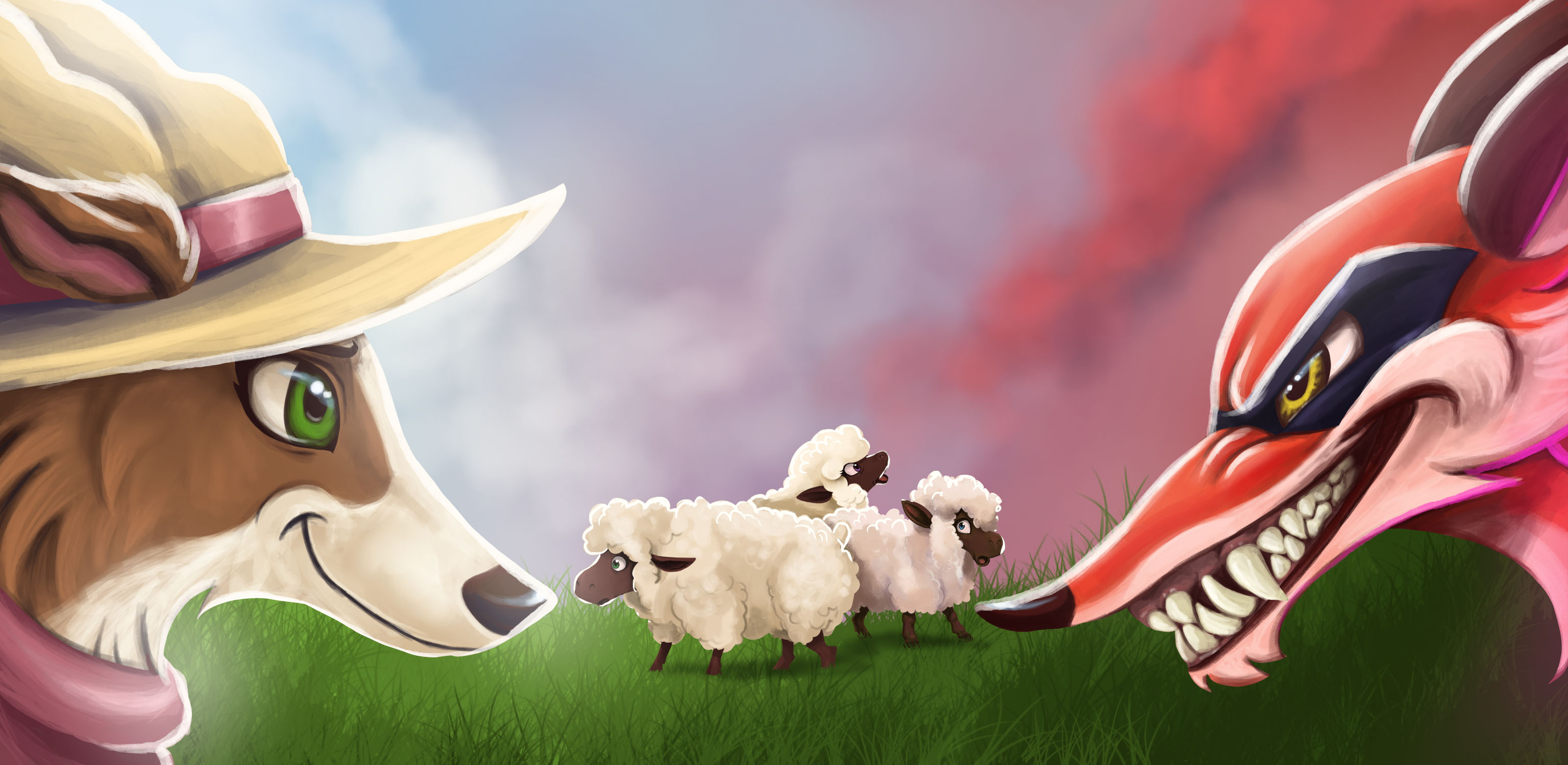 Sheeping Around:
