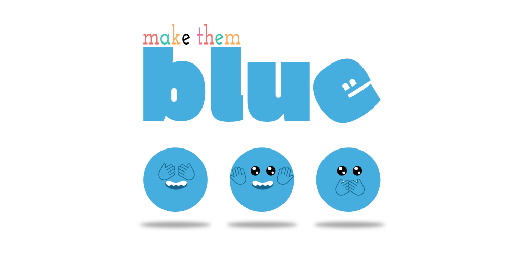 blue game