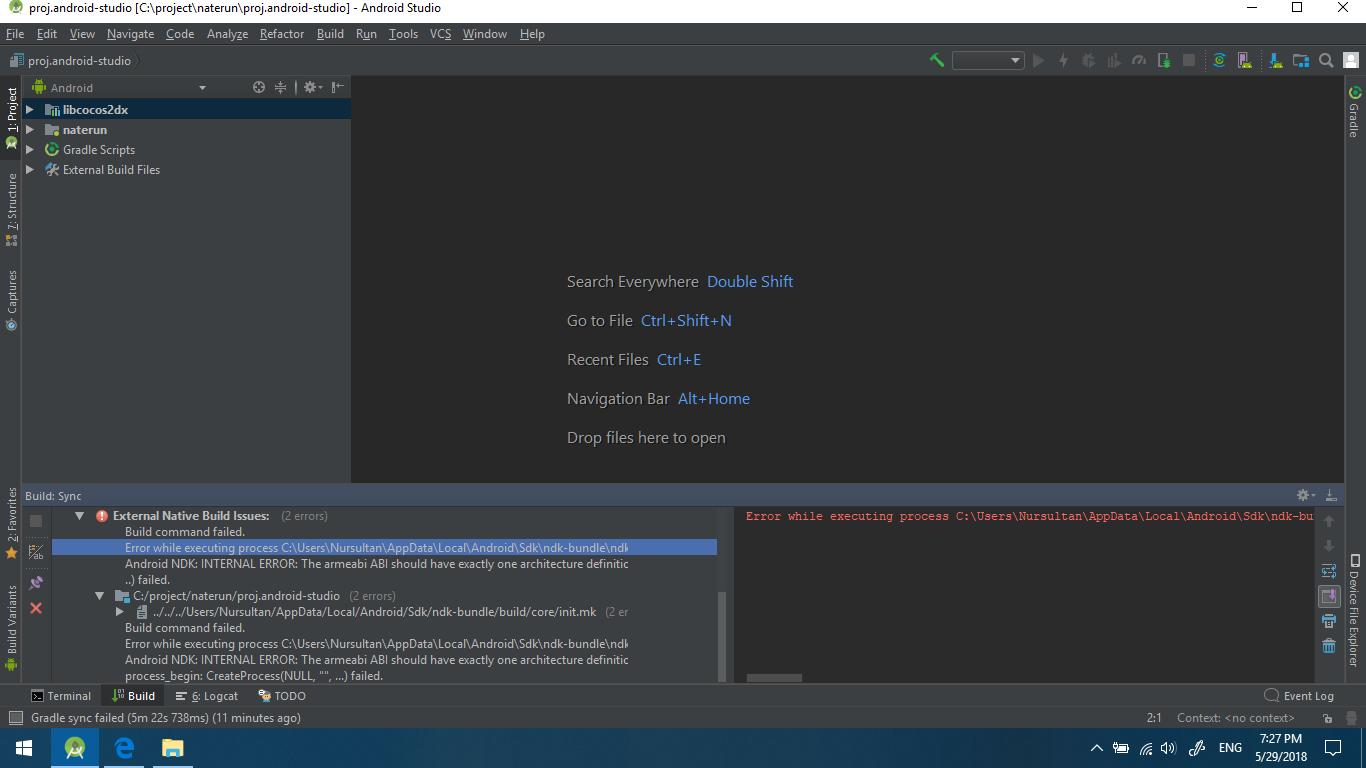 Android NDK error - cocos2d-x - Cocos Forums