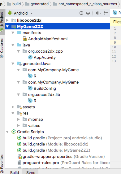 Android studio and c++ sources - C++ - Cocos Forums