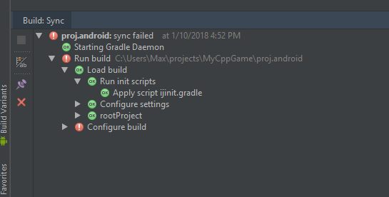 Cocos2d-x 3 17 Android Studio - Step By Step Help Requested - C++