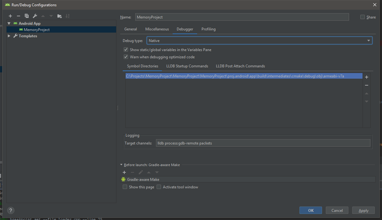 Failed to set breakpoint on Android Studio? - C++ - Cocos Forums