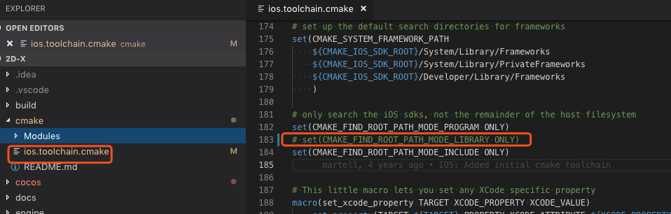 CMake GUI to generate iOS project - C++ - Cocos Forums